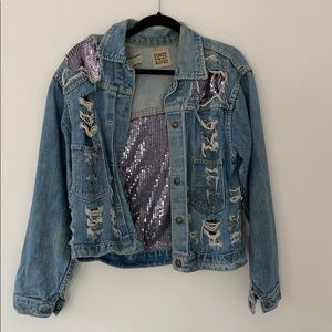 Furst of a kind custom denim jacket